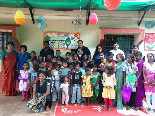 At the Tara centre children of construction workers get to have a healthy meal, indulge in fun activities and learn about issues like the ills of child marriage, alcoholism and domestic violence apart from the importance of schooling.