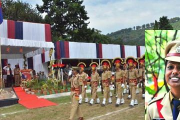 A parade on Assam Police Day 2016. Source: Assam Police