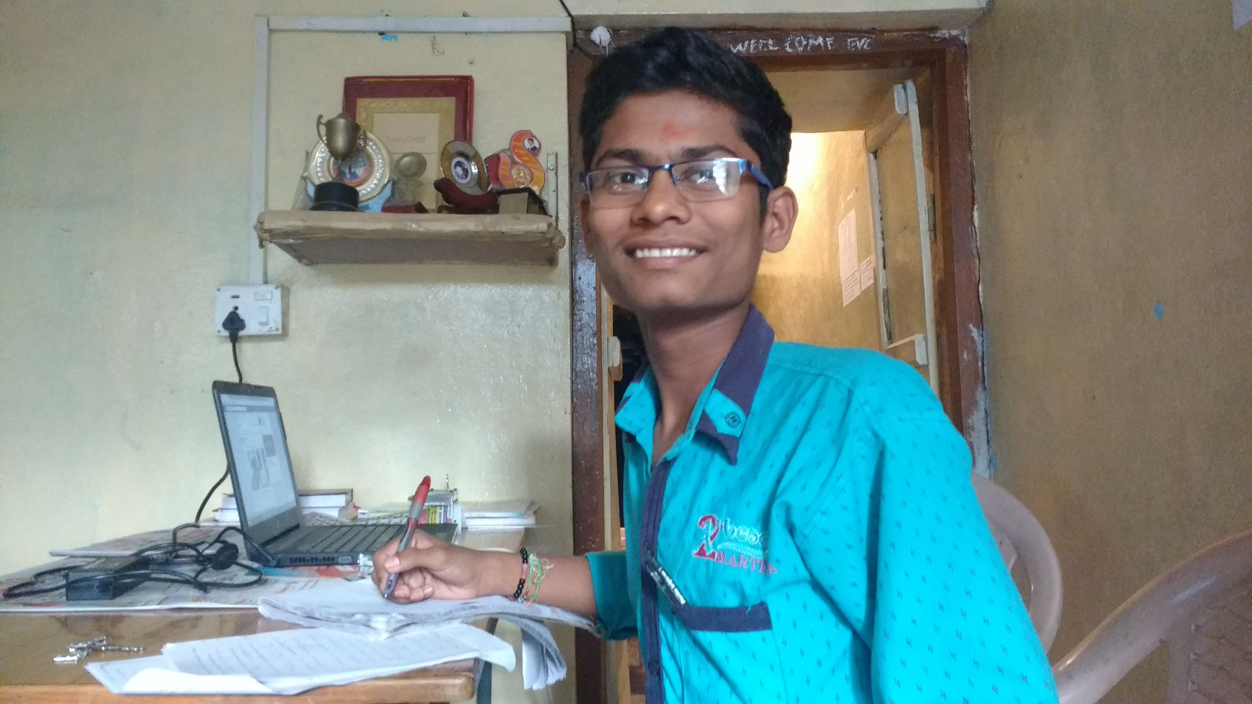 Despite being the son of a devadasi, Kashinath let nothing stand in the way of his education
