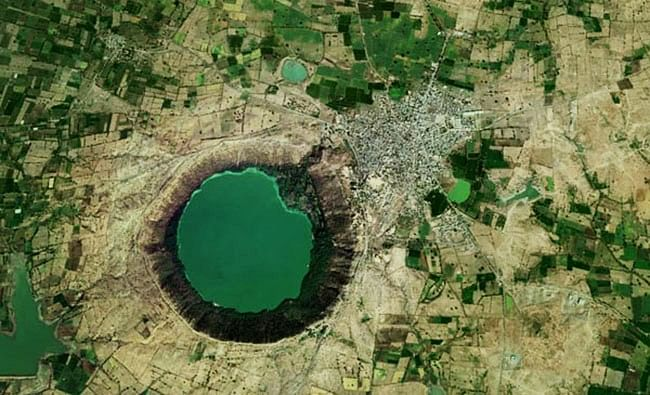 Image result for lonar lake