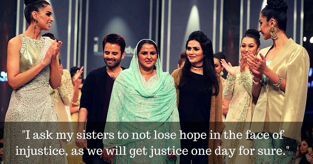 14 Years after Being Publicly Shamed, Pakistani Gang Rape Survivor Walks the Ramp & Wins Hearts