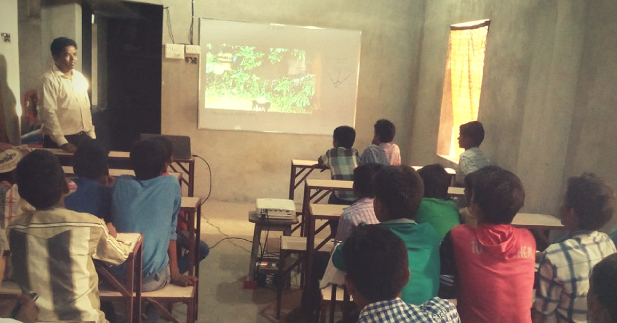 Why an IIT Graduate Left His Cushy Job Abroad to Set Up Digital Classrooms in Rural Bihar
