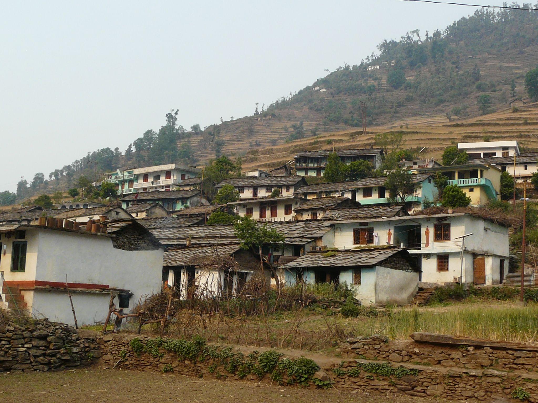 ransi_village_in_garhwal_uttarakhand