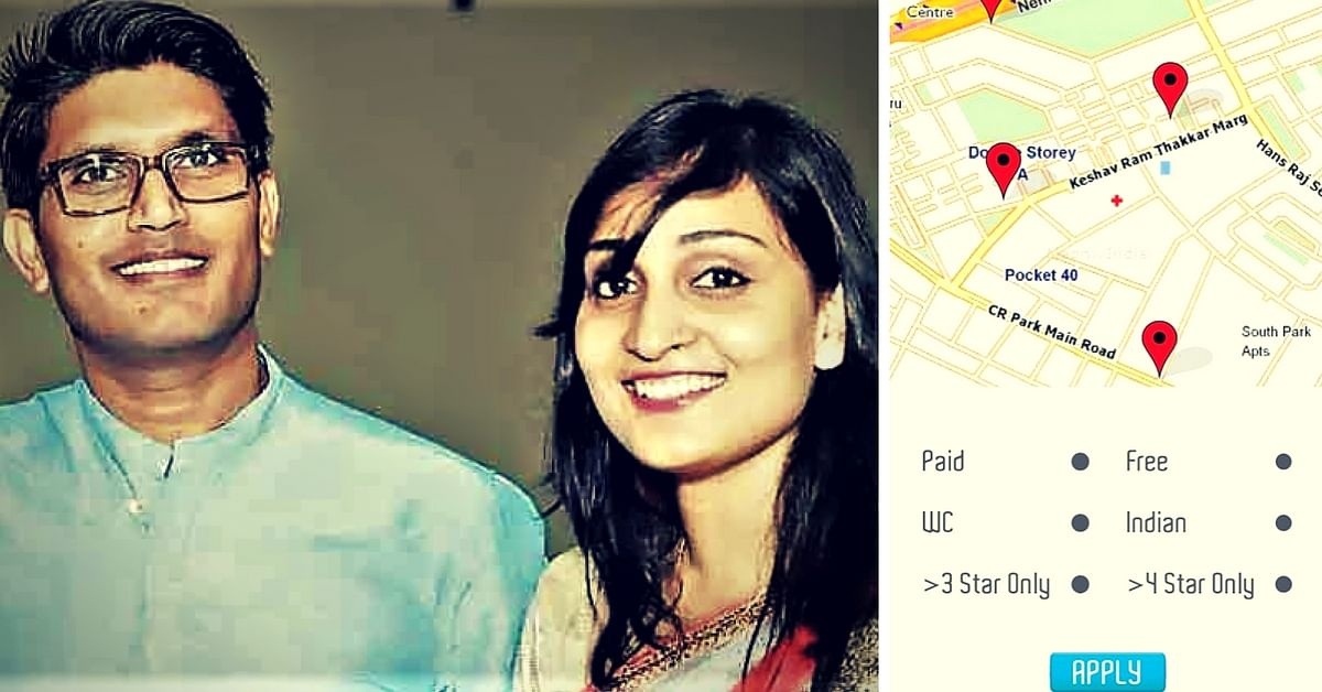 An Enterprising Young IAS Couple Has Developed an App to Help Anyone Find Clean Toilets!