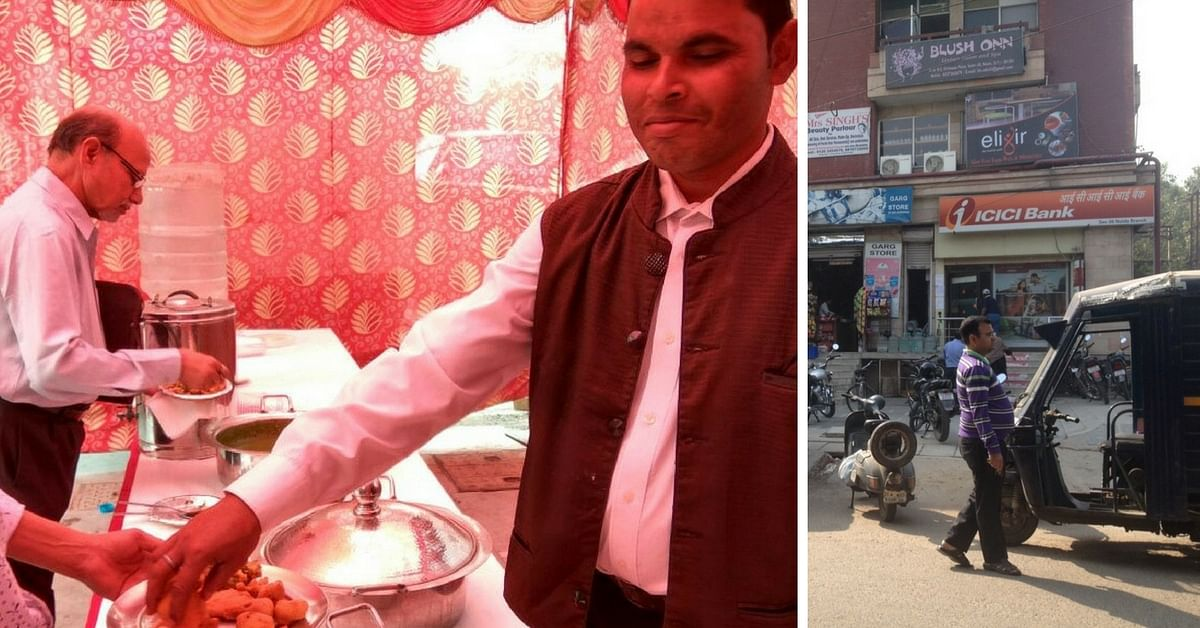This CA From Noida Served Free Food for 3 Days to Bank Employees and Customers Waiting in Queues