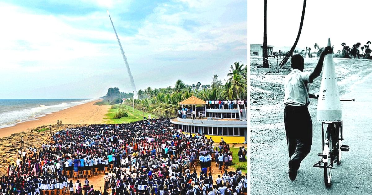 Transported on a Bicycle, Launched from a Church: The Amazing Story of India's First Rocket Launch