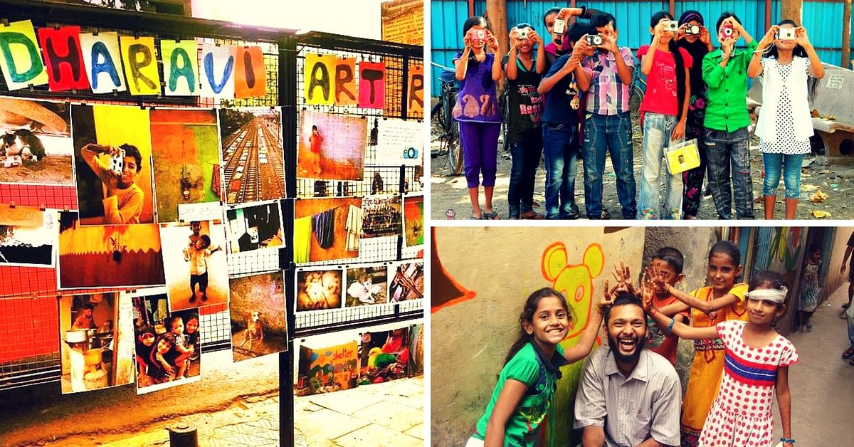Welcome to Dharavi Art Room – A Safe, Colourful Space Where Children Come to Draw, Paint, & Explore