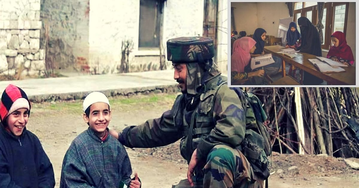 """""""School Chalo"""": Indian Army Calls out to Kashmiri Children, Promotes Education in Time of Unrest"""
