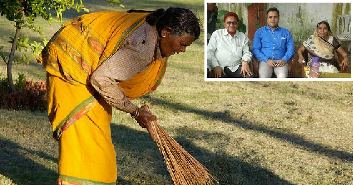 This 60-YO Peon Celebrated her Retirement Day in the Presence of her IAS, Doctor & Engineer Sons