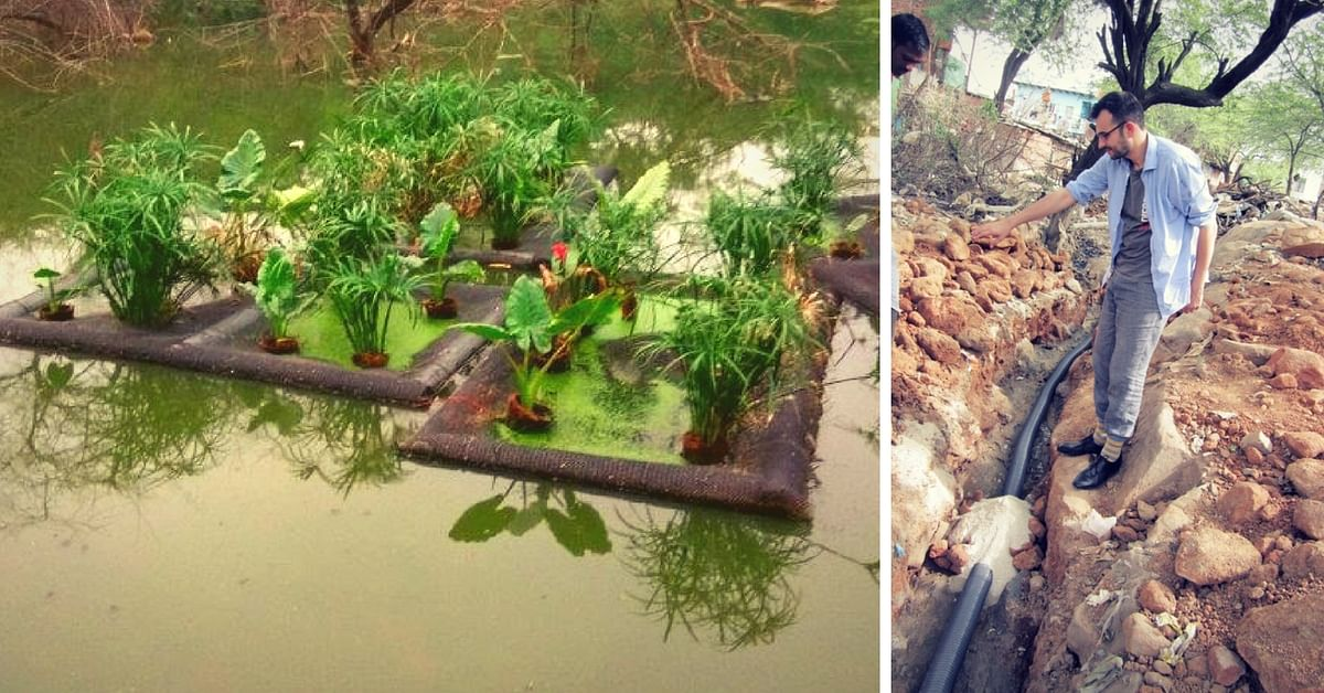 Delhiites, Check out This Ecological Engineer's Super Innovative, Natural Idea to Reduce Pollution in Water Bodies