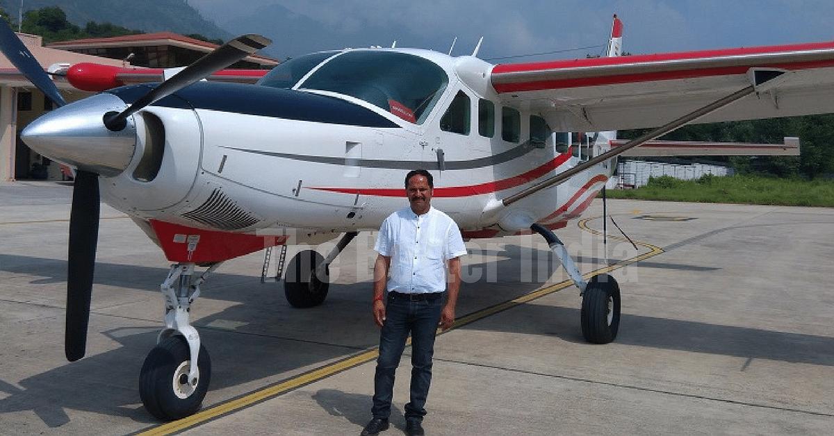Budhi Prakash, Founder, Air Himalayas