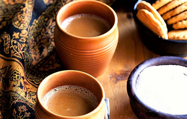 India in a Tea Cup: The Fascinating History of India's Best Loved Beverage, Chai