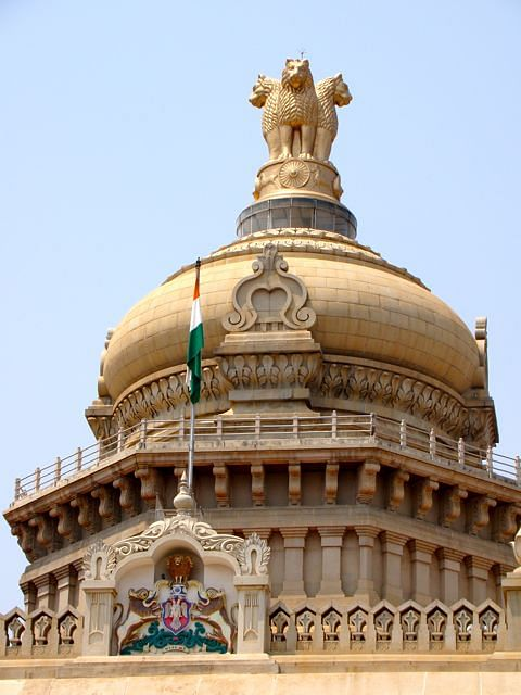 national-emblem-of-india-atop-vidhana-soudha-parliament-building-bangalore-karnataka-india
