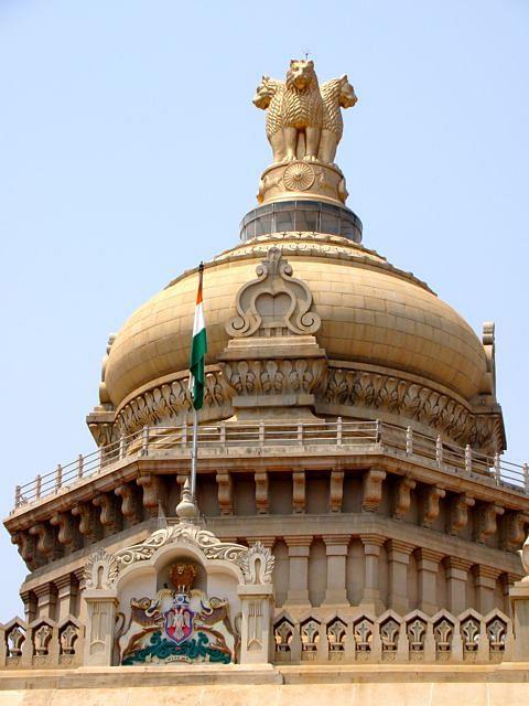 national-emblem-of-india-atop-vidhana-soudha-parliament-building-bangalore-karnataka-india
