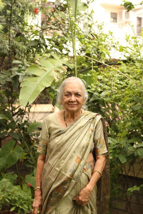 Sudha Pai at home. Photograph: Chandana Banerjee