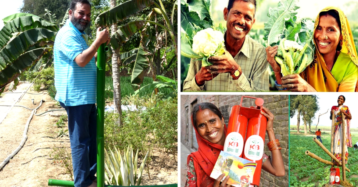 How One Man's Simple Low-Cost Tools Are Helping Millions of Farmers Tackle Climate Change in India