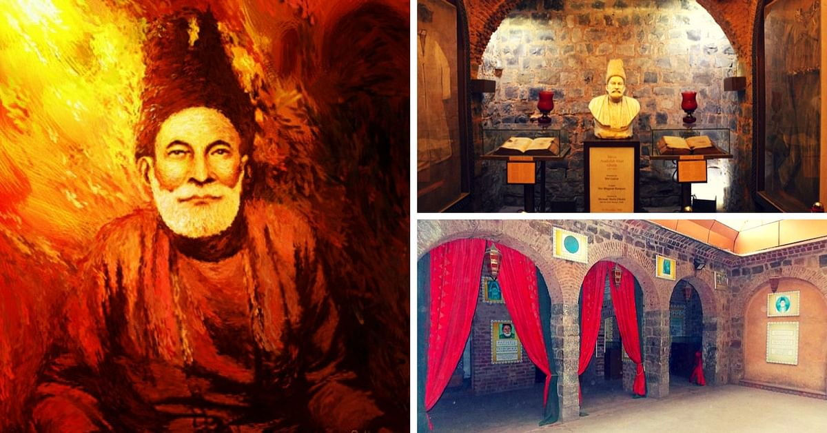 Lost in the Chaos of Chandni Chowk, Mirza Ghalib's 300-Year-Old Haveli is a Forgotten Treasure