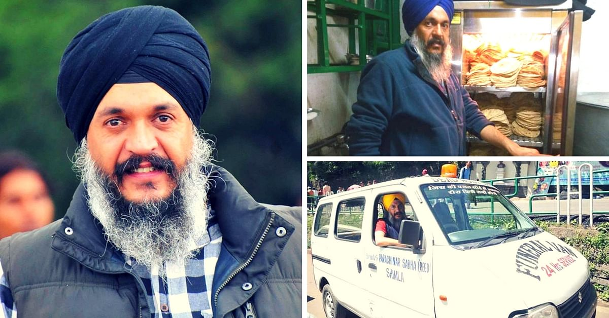 From Driving the Funeral Van to Feeding Cancer Patients, Shimla's 'Vela' Bobby Does It All for Free!