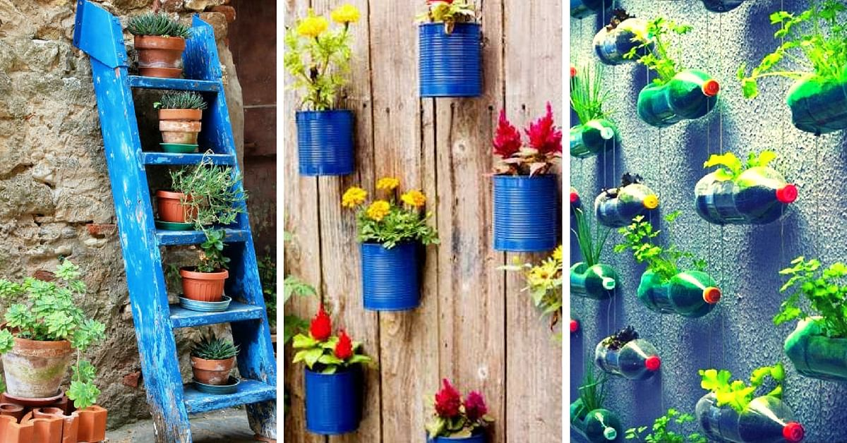 Home Gardens That Require Very Little Space & Time – All You Need to Know About Vertical Gardening!