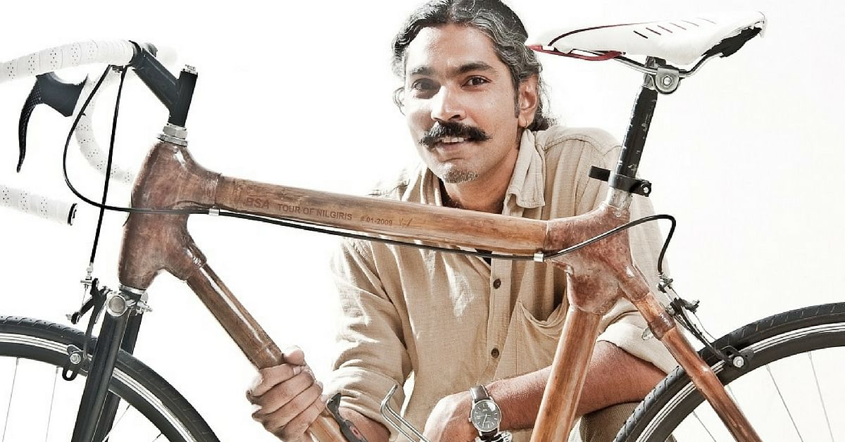 This Son of a Carpenter Made India's First Bamboo Bicycle for a Greener Ride