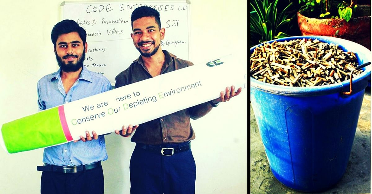 No More Butts: This Duo Is Recycling Every Part of the Cigarette Butt and Paying Collectors Too!