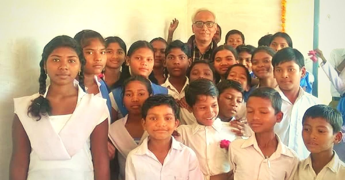This Former Banker Quit His Job to Educate Underprivileged Children in Madhya Pradesh Villages