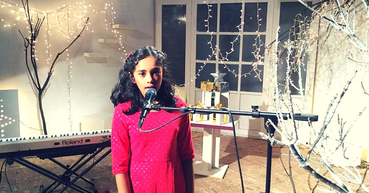 After Entering College at 7, Indian Origin Child Prodigy Releases Musical Album in 6 Languages!