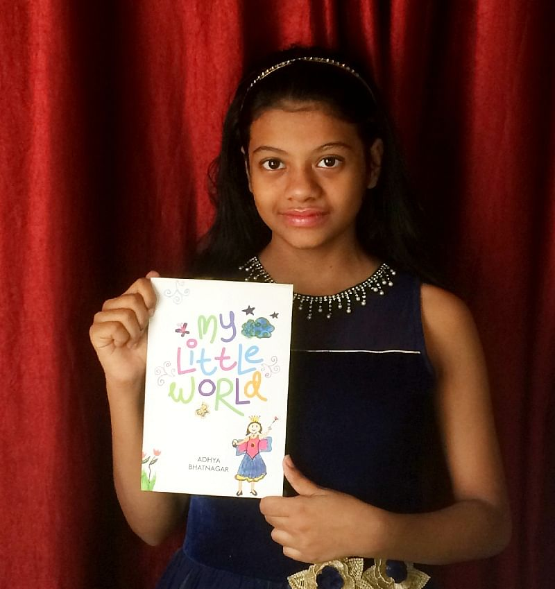 Adhya Bhatnagar Little Author