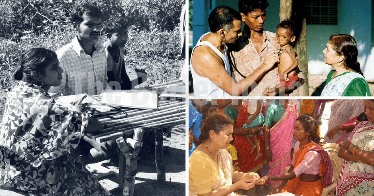 Dr. Prakash Amte and Dr. Mandakini Amte - Providing medical services to the tribal people since 1973
