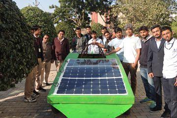 """SURYODAY -""""AAHAN The Solar Car""""  'Complete Team'"""
