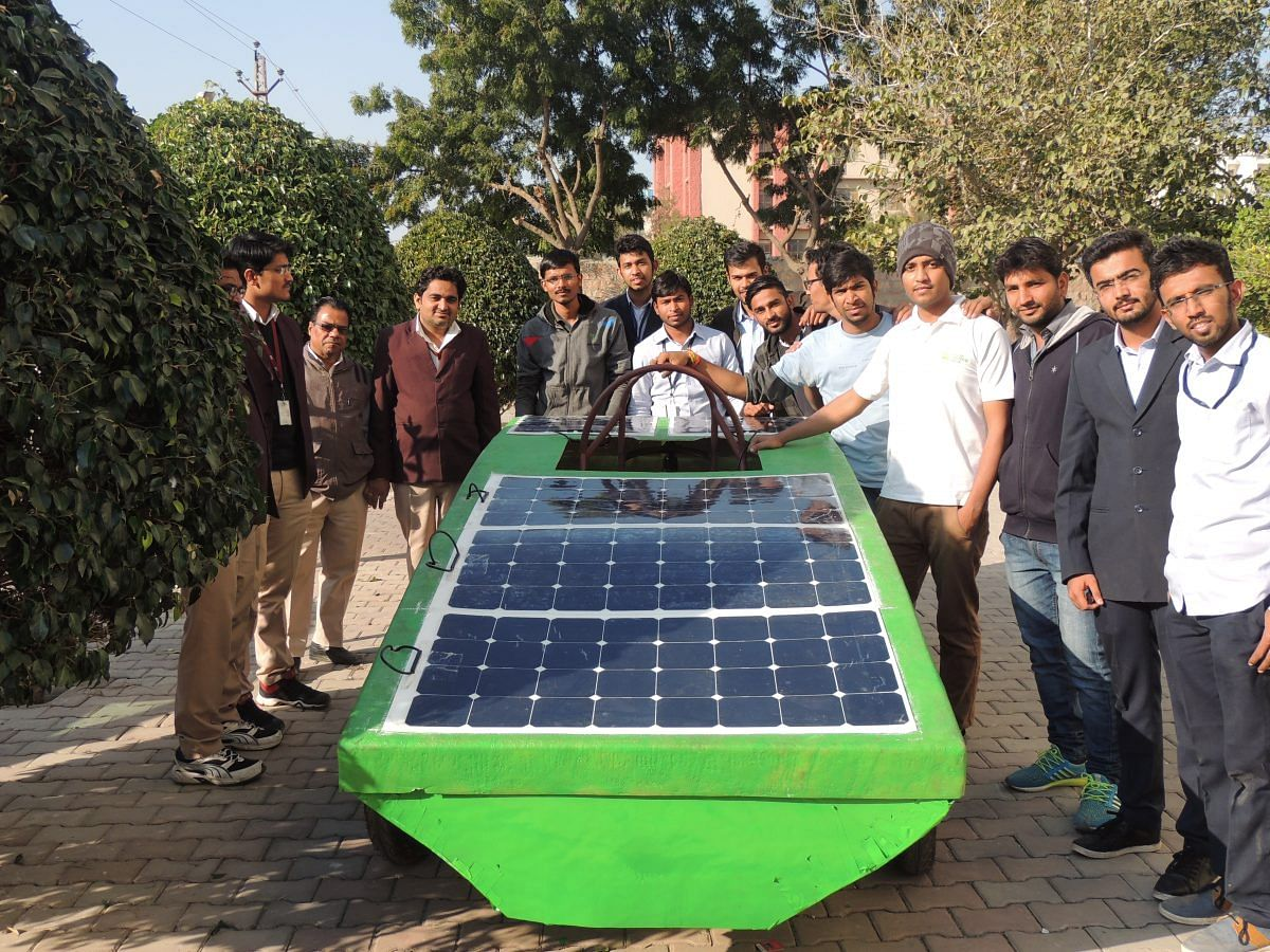 TBI Blogs: How 25 Engineers from Jodhpur Built a Globally Competitive Solar Car at One-Sixth the Usual Price!