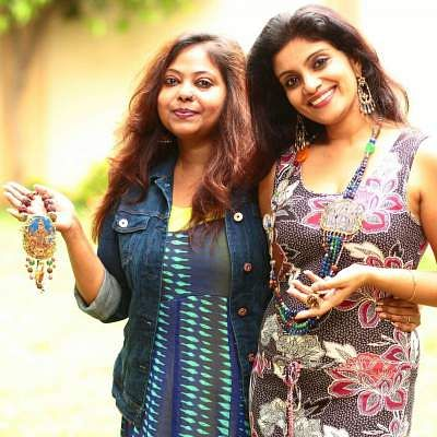 Rituparna Das and Angeline Robinson of Silver Nut Tree