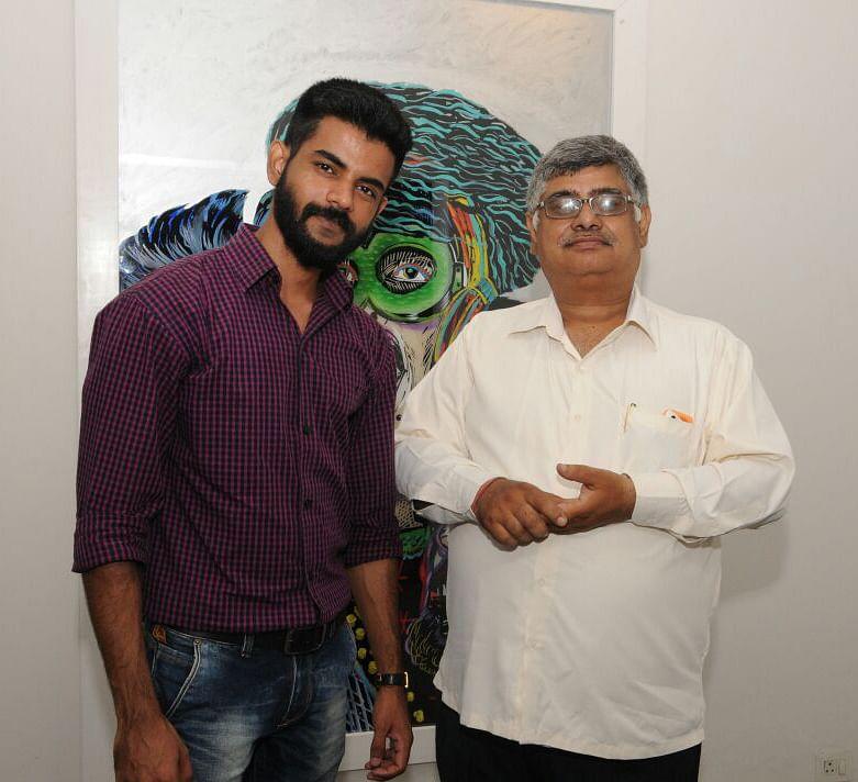 Gagan & Mr Bhatia