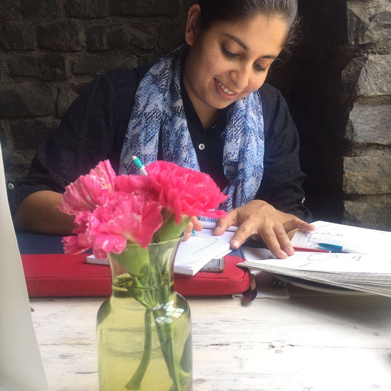 Delhi-based designer and founder of Izel Labs and Izel Homes, Kanika Gupta.