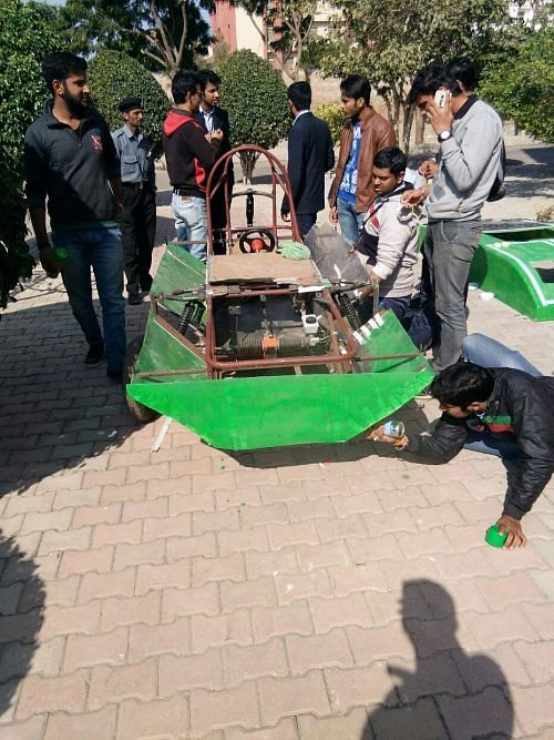 """Outer Body of the """"Solar Car"""""""