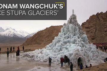 ice stupas