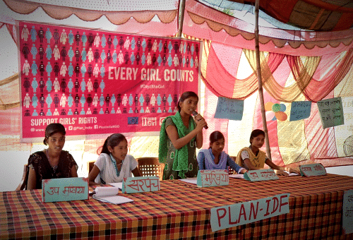 Nisha takes over as Sarpanch of her village on International Day of the Girl 2016