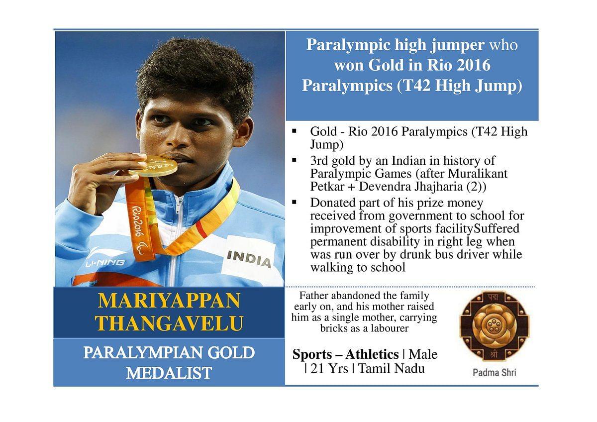 Thangavelu Mariyappan