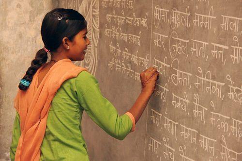 Udaan Hardoi - Learning Hindi Alphabets1