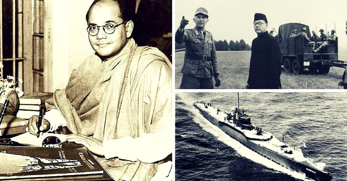 The Fascinating Tale of Subhash Chandra Bose's Secret Submarine Journey from Germany to Japan
