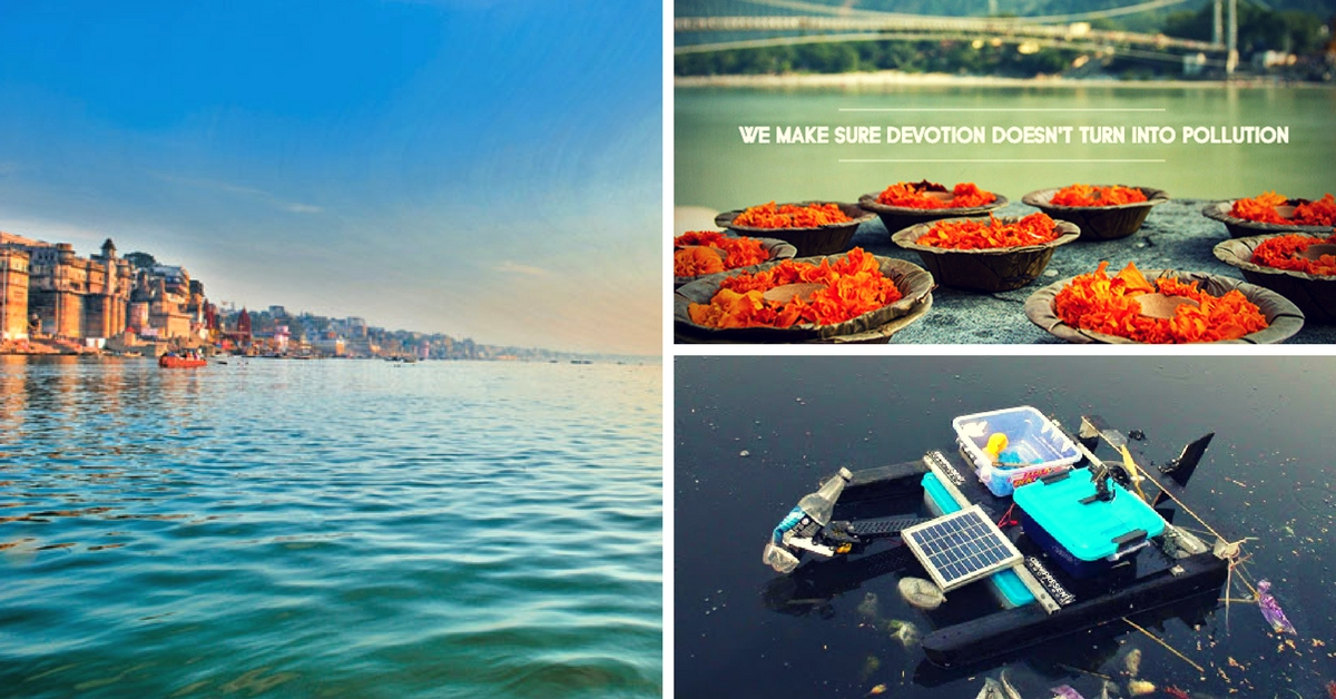 How Three Startups Are Using Innovative Methods to Clean and Restore River Ganga