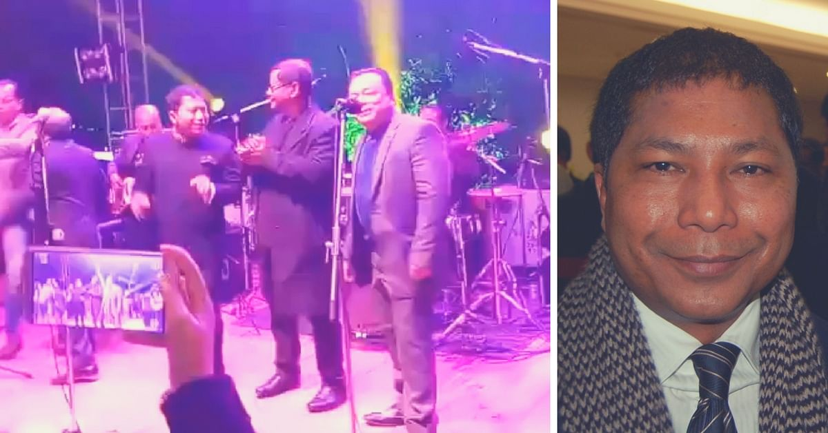 Who Says Political Opponents Can't Be Friends? Meghalaya CM & Opposition Leader Croon the Beatles!