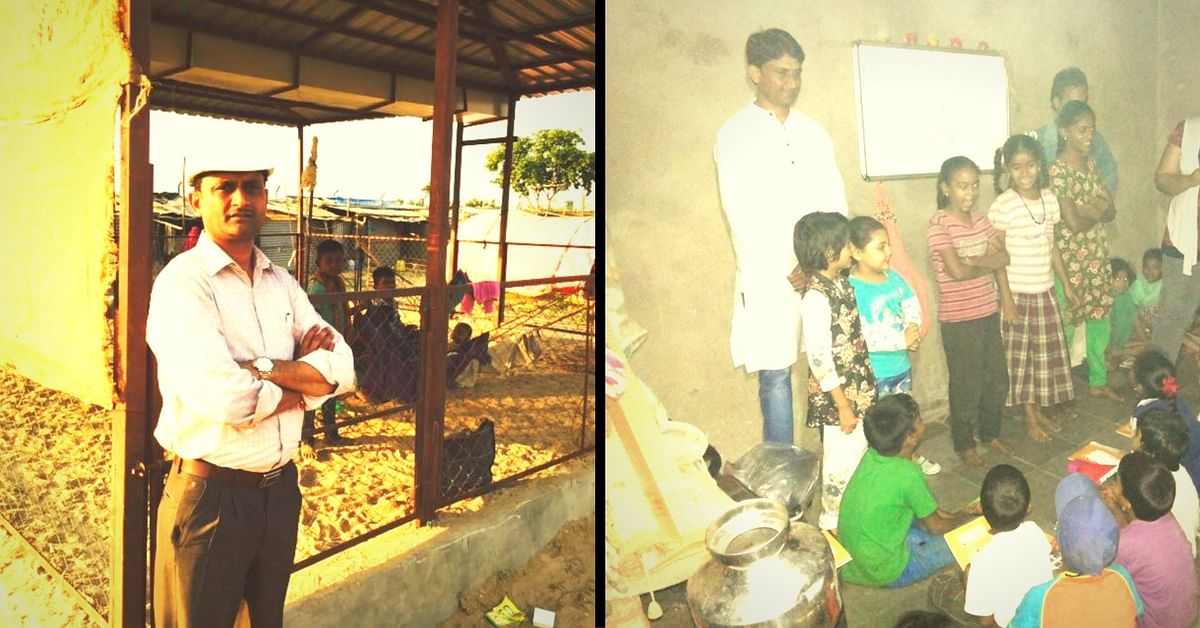 This Former Journalist Works Extra Hours So He Can Educate Underprivileged Children