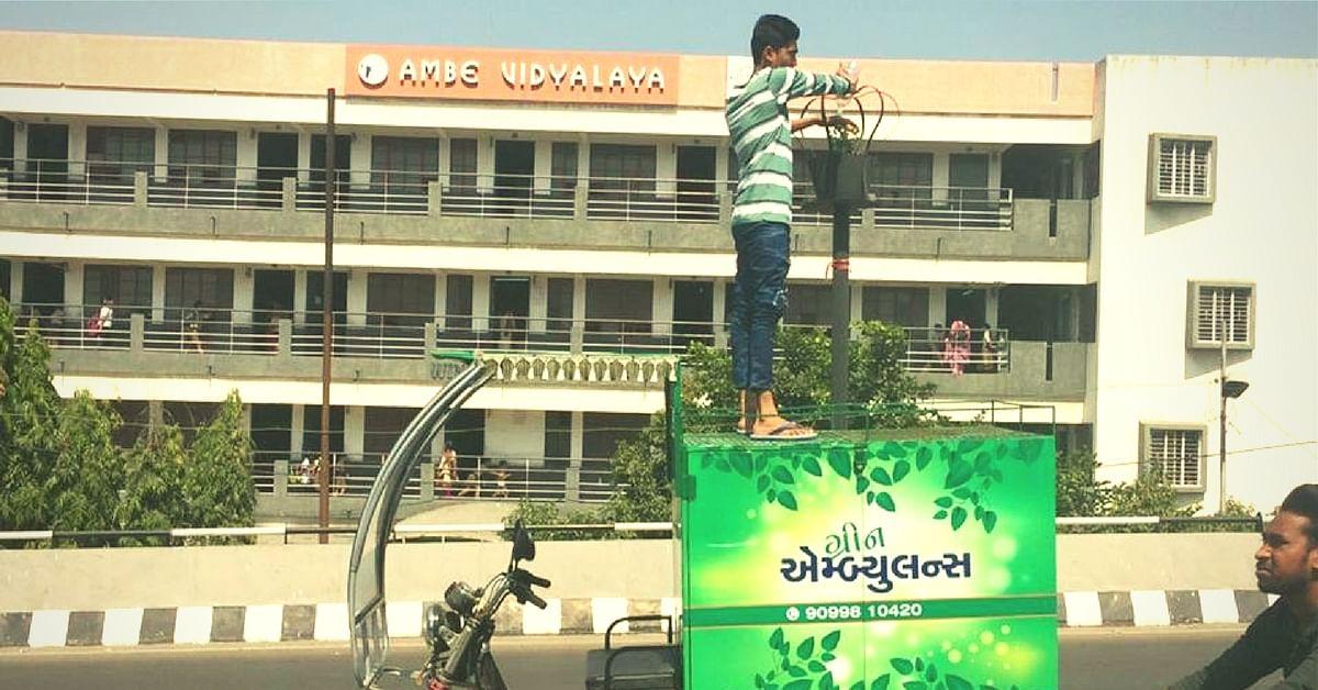 Sapling Emergency? Green Ambulances in Vadodara Provide Immediate Assistance to Save Plants!
