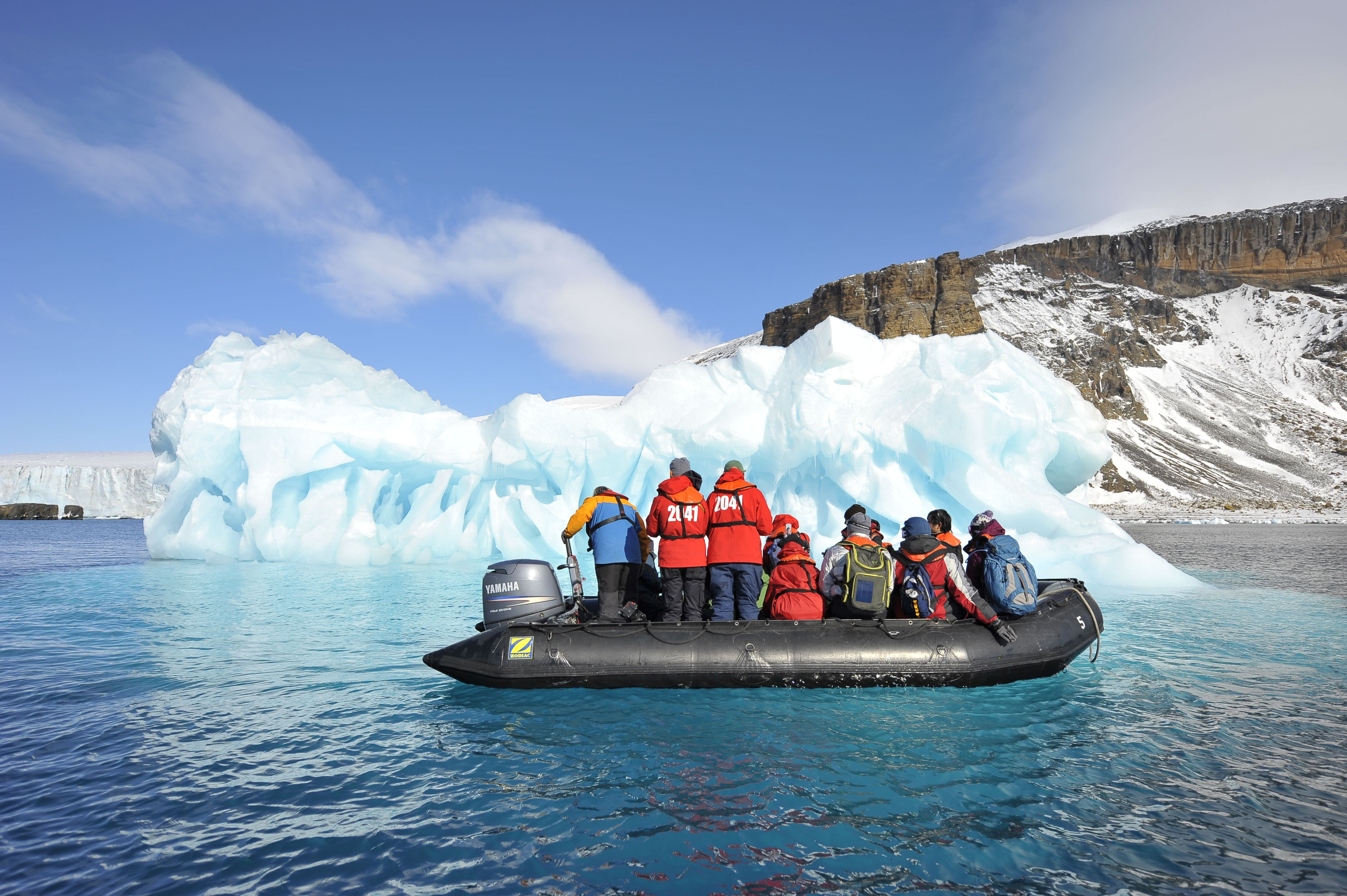 Antarctica - Digantika's climate change expedition