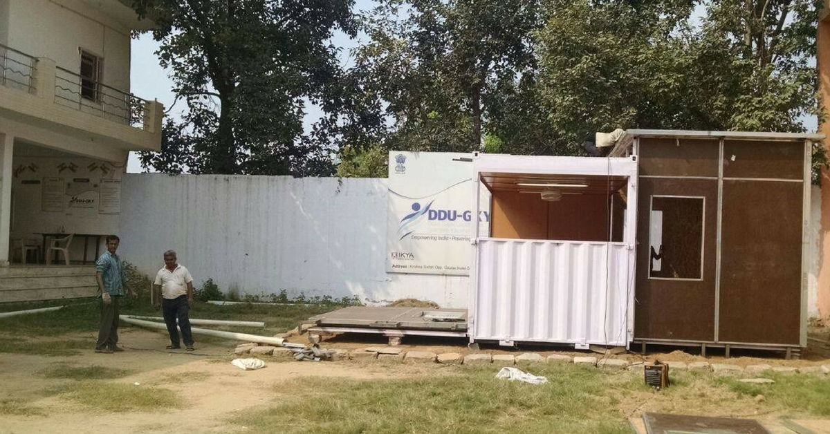 How a Delhi Startup Is Turning Old Shipping Containers Into Eco-Friendly Schools and Buildings