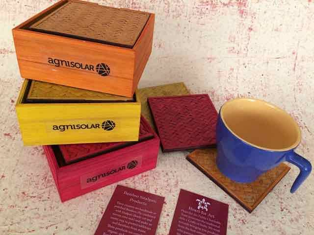 Bamboo Coasters for Gifting
