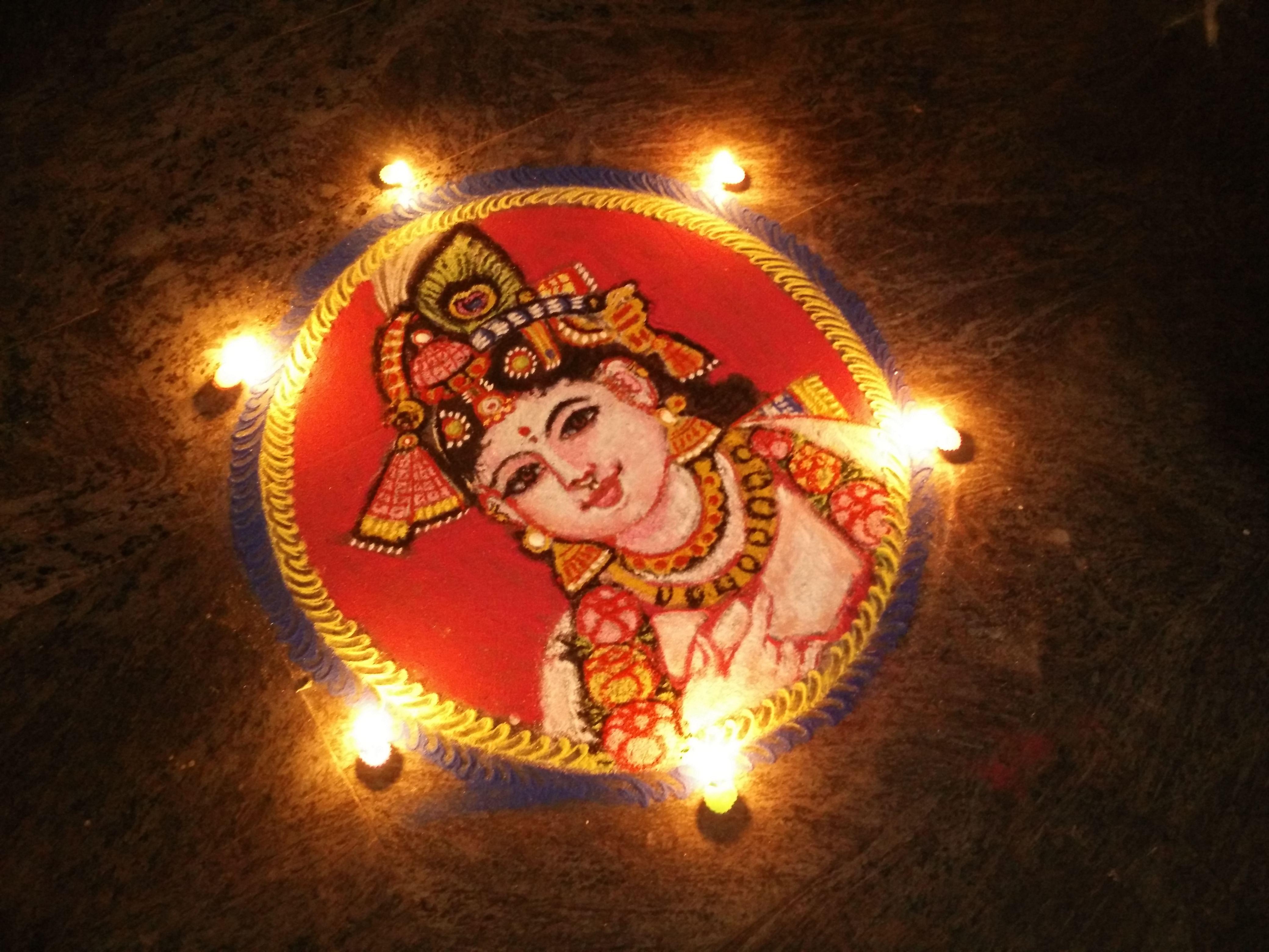 Art work by Mangalam Srinivasan