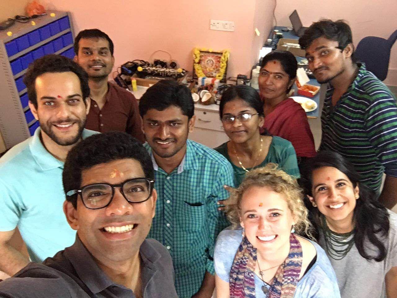 Janan with BEMPU team