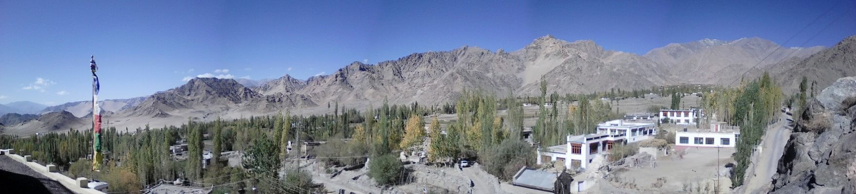 Panorama of Leh Valley, Ladakh
